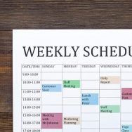 Things to know about the purpose of the work schedule