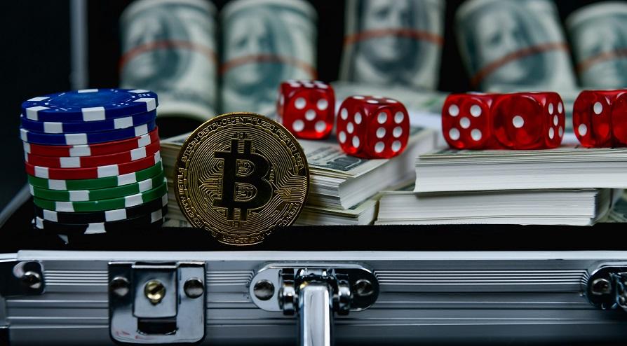 bitcoins in gambling